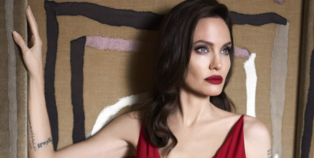 Angelina Jolie pour Guerlain, postproduction Dahinden