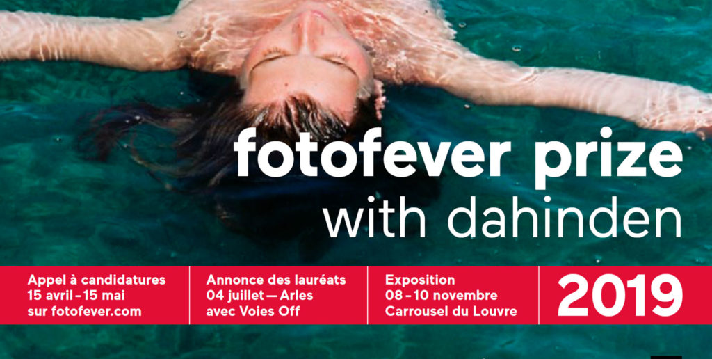 Edition 2019 du fotofever prize with Dahinden